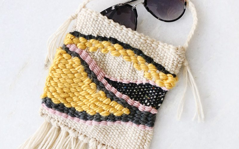Make Your Own DIY Woven Bag