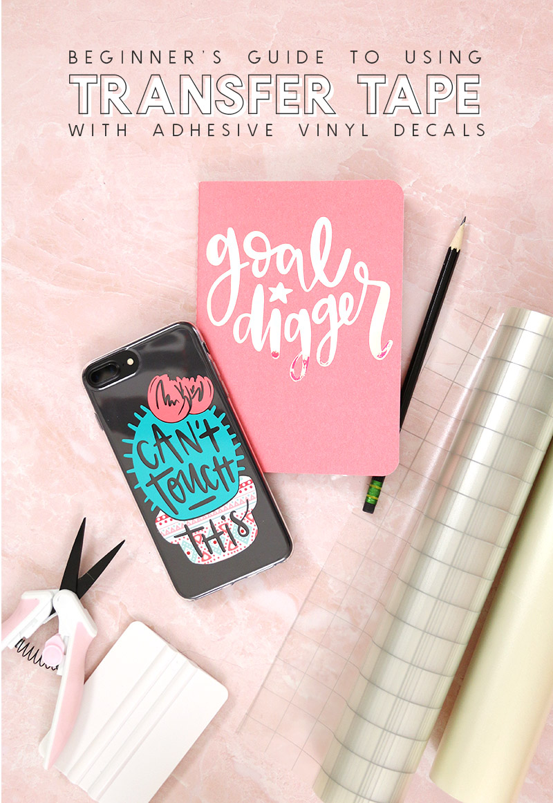 how to use transfer tape with vinyl beginners guide to transfer tape