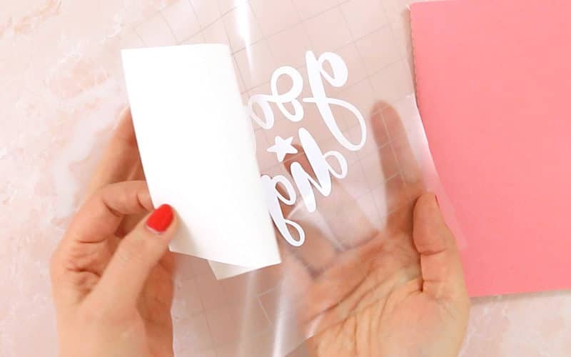 Transfer Tape 101: How to Use Transfer Tape with Silhouette or Cricut Vinyl
