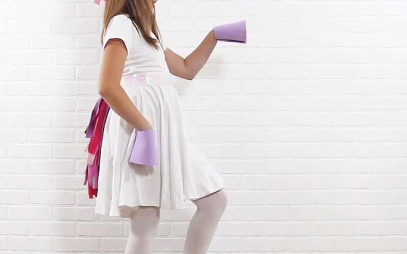 DIY Unicorn Costume: Easy, No Sew Kids Costume