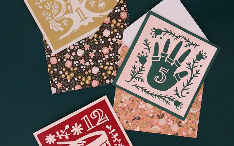 12 Days of Christmas SVG Cut Files