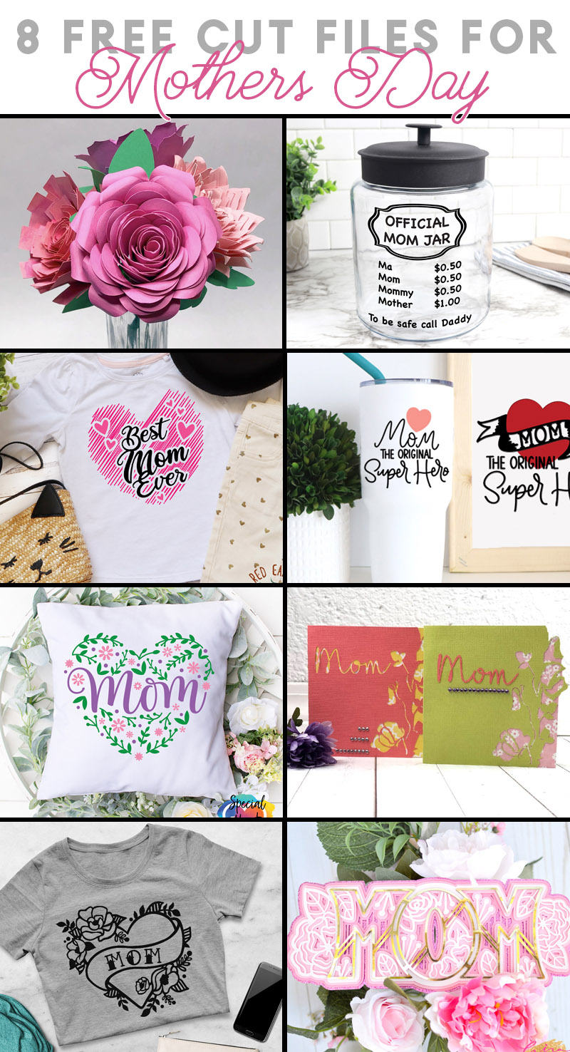 free mother's day cut files