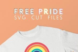 Free LGBTQ Pride SVG Cut Files