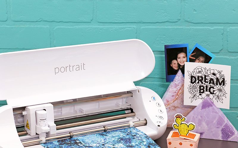 Introducing the Silhouette Portrait 3 + Cutting Cardstock without a Mat!