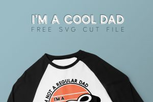 Free Cool Dad SVG Cut File